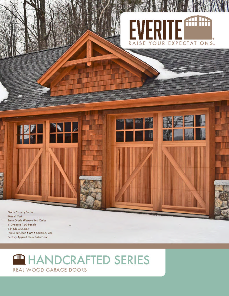 Everite Door - Handcrafted Series Brochure