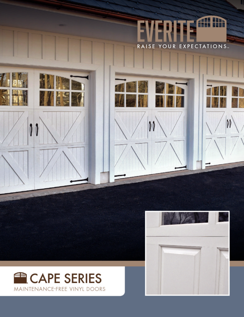 Everite Door - Cape Series Brochure