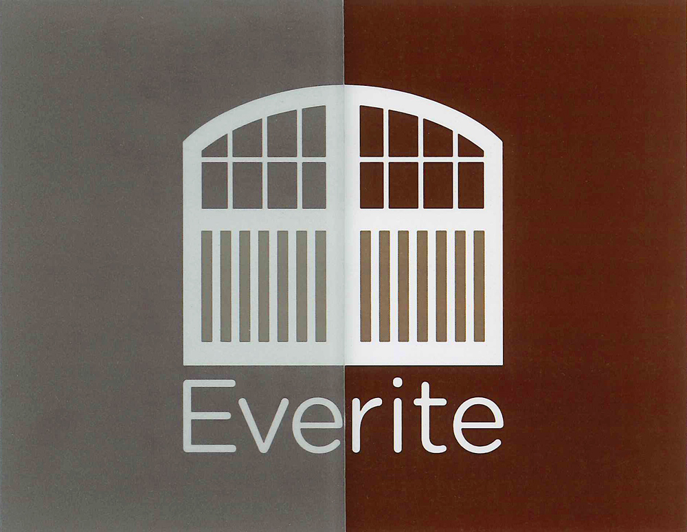 Everite Door Frosted Gl