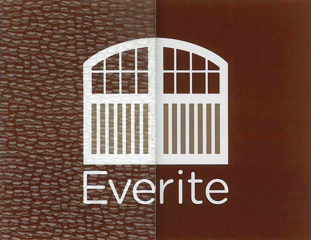 Everite Door - Hammered Glass