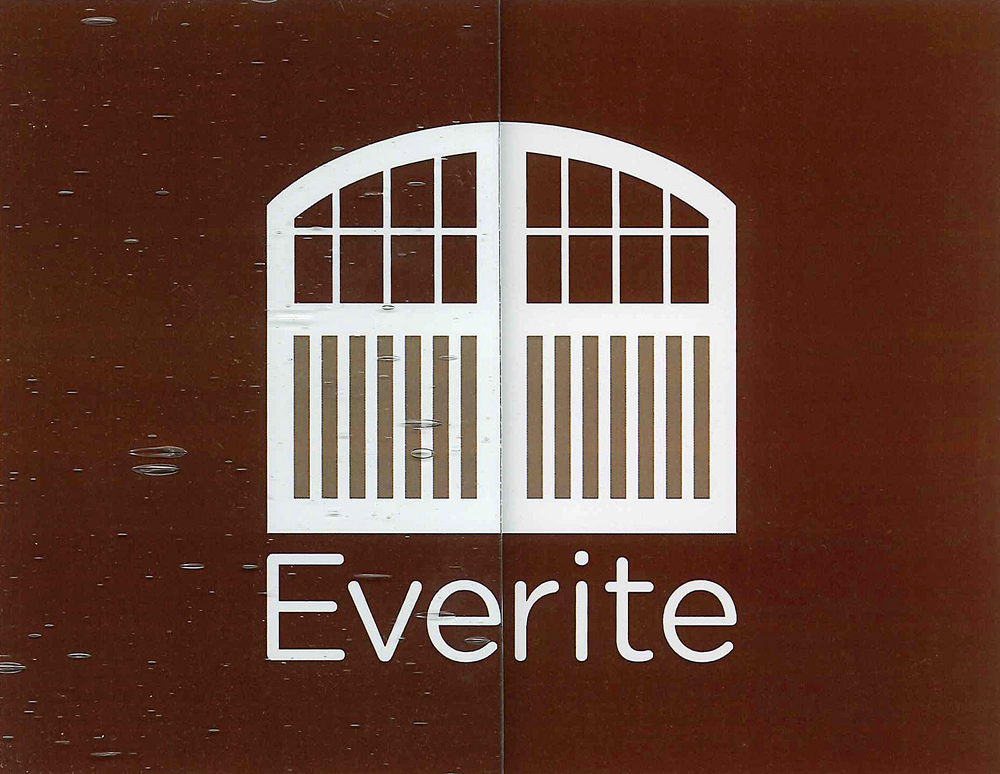 Everite Door - Seedy Glass