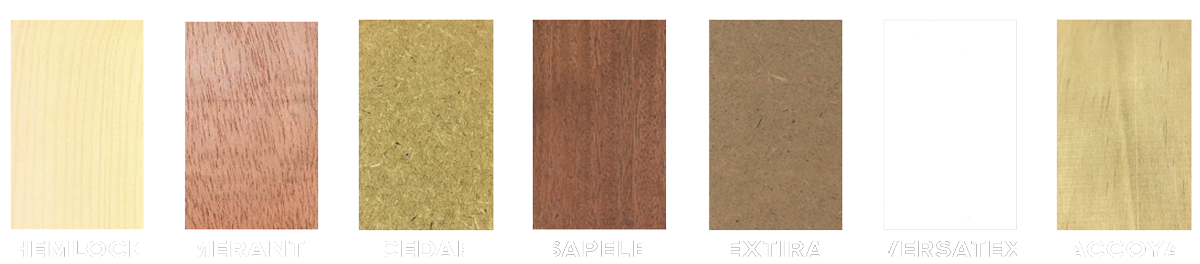 Everite Door - Traditional Series - Materials