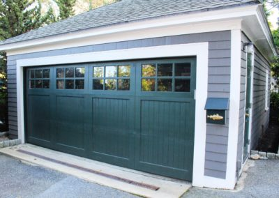 Charles River Custom Series Cambria Model Paint Grade Wood V-Groove Panels 3 over 3 Lite Square Glass