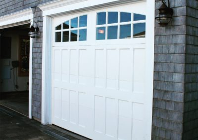 Cape Cod Semi-Custom Series Susquehanna Model 100% Versatex PVC 4 over 4 Lite Arch Glass