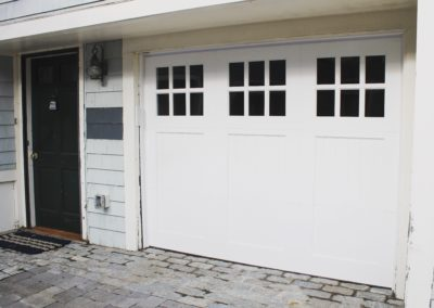 Cape May Custom Series Brookline Model 100% Versatex PVC 3 over 3 Lite Square Glass