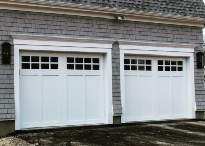 Cape May Custom Series Cameron Model 100% Versatex PVC 4 over 4 Lite Square Glass