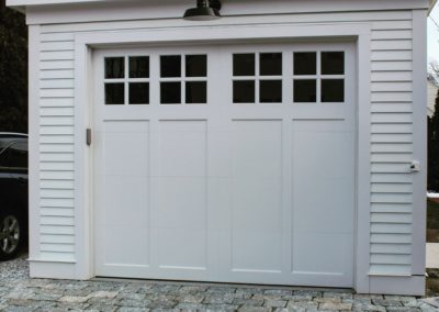 Cape May Custom Series Cameron Model 100% Versatex PVC 2 over 2 Lite Square Glass
